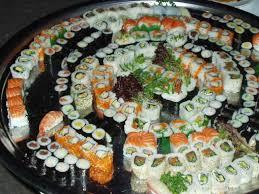 Tabla nutricional del sushi