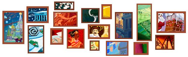 Todos los logos 2010-2011 de Google
