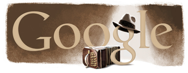 Google Logo: Carlos Gardel's Birthday - Most prominent figure in the history of tango
