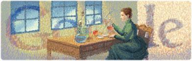 144º cumpleaños de Marie Curie