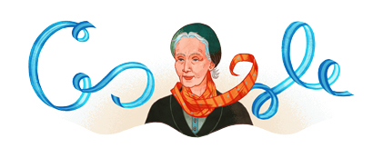 Google Logo: Alicia Moreau de Justo's 127th birthday - Argentine politician and physician