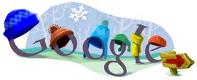 Google Logo: Start of Winter in South America