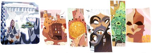161º aniversario del nacimiento de Antoni Gaudi