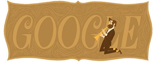 201.º aniversario del nacimiento de Adolphe Sax