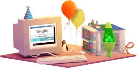 17.º aniversario de Google