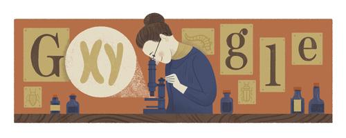 155.º aniversario del nacimiento de Nettie Stevens