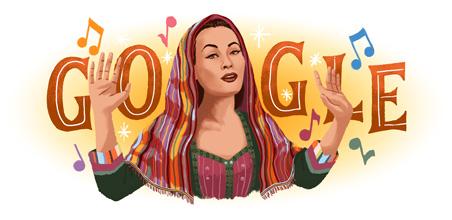 94º aniversario del nacimiento de Yma Sumac