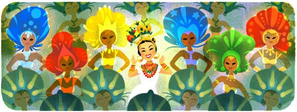 108º aniversario del nacimiento de Carmen Miranda