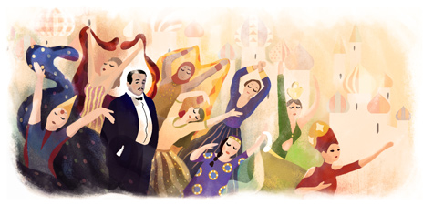 145º aniversario del nacimiento de Sergei Diaghilev