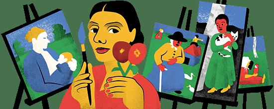 142º aniversario del nacimiento de Paula Modersohn-Becker
