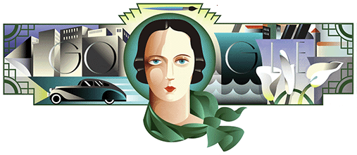 120º aniversario del nacimiento de Tamara de Lempicka