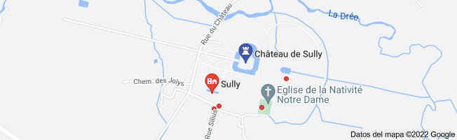 Mapa de chateau de sully