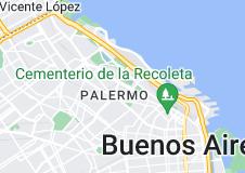 Mapa de Hipódromo Argentino de Palermo