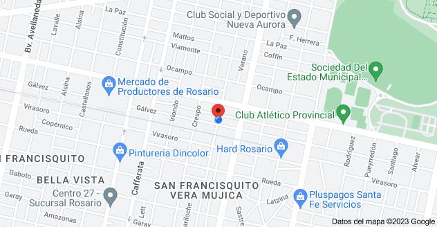 Mapa de Gálvez 3198, S2003ADT Rosario, Santa Fe