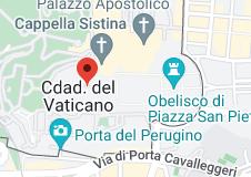 Mapa de Basílica de San Pedro