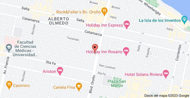 Mapa de Urquiza 2217, S2000KDA Rosario, Santa Fe