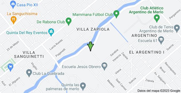 Mapa de Sadi Carnot 3652, Merlo, Buenos Aires