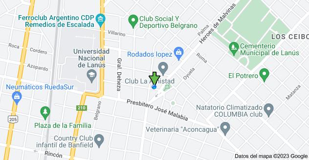 Mapa de Azopardo 630, B1822DAA Remedios de Escalada, Buenos Aires